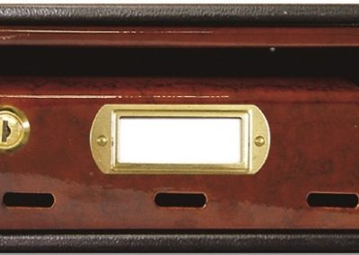 Buzón para comunidades metalico horizontal de interior de ferpasa. Caramelo. El mas vendido en Valencia